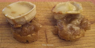 recetas thermomix, cebolla confitada con queso de cabra