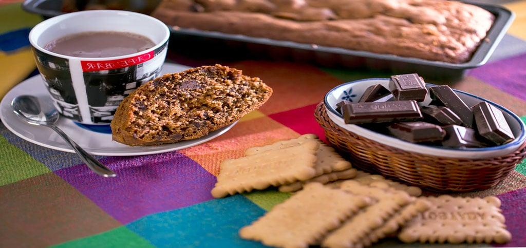 Bizcocho de Chocolate y Galletas