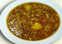 lentejas-con-salchichas-y-arroz