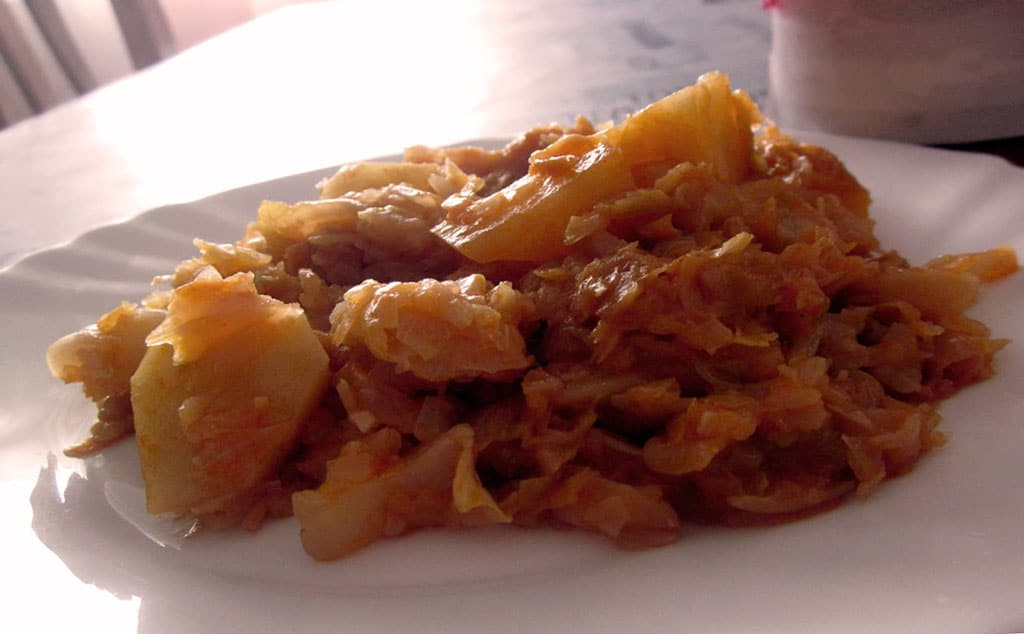 Repollo thermomix repollo a la gallega recetas que for Cocinar raya a la gallega